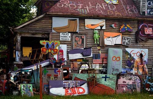 Heidelberg Project (Image: nic_r used under a Creative Commons Attribution-ShareAlike license)