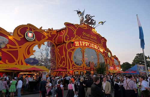 Hippodrom beer tent (Image: Ethan Prater)