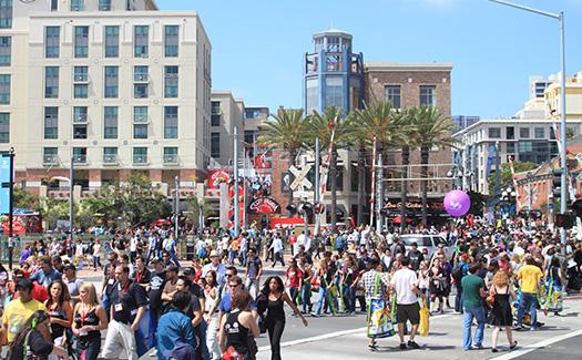 Comic-Con Gaslamp