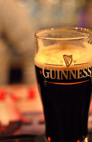 Guinness (Image: [puamelia] used under a Creative Commons Attribution-ShareAlike license)
