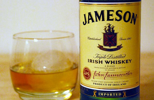 Jameson Irish whiskey (Image: patruby83 used under a Creative Commons Attribution-ShareAlike license)
