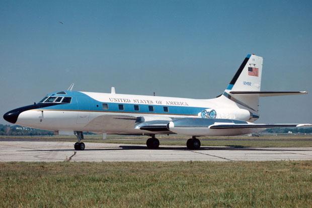 Insomnia Cured Here, Lockheed VC-140B JetStar via Flickr CC BY 2.0