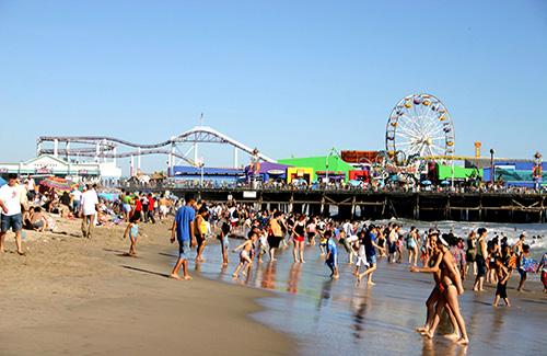 """Santa Monica (Image: John Paul """"Boomer"""" Iacoangelo/Discover L.A.)"""