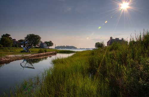Connecticut's landscape (Image: ReefTECK used under a Creative Commons Attribution-ShareAlike license)