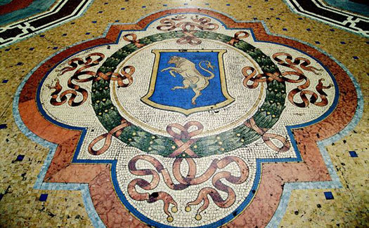 Bull Mosaic
