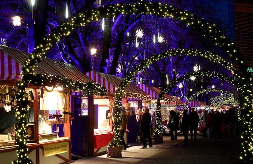 Berlin Christmas Market, Germany (Image: onnola used under a Creative Commons Attribution-ShareAlike license)