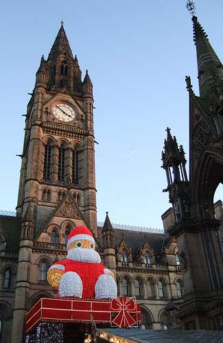 Manchester Christmas Market, England (Image: rightee)