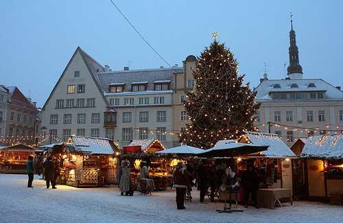 Talinn Christmas Market, Estonia (Image: Marit & Toomas Hinnosaar)