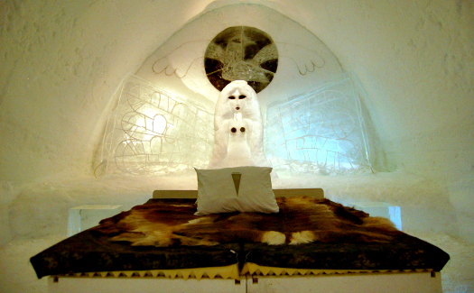 A room at Ice Hotel (Image: bjaglin)