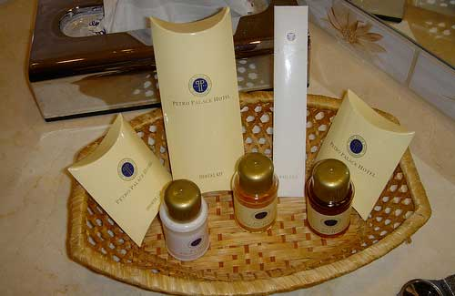 Most hotels offer toiletries, so leave yours at home (Image: BrentOzar used under a Creative Commons Attribution-ShareAlike license)