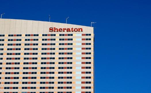 Sheraton hotel external view