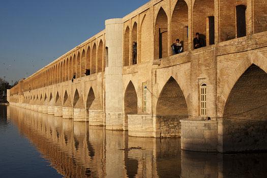 Si-o-se Pol in Isfahan, Iran