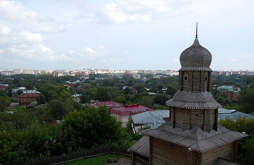 Tomsk (Image: c.hug used under a Creative Commons Attribution-ShareAlike license)