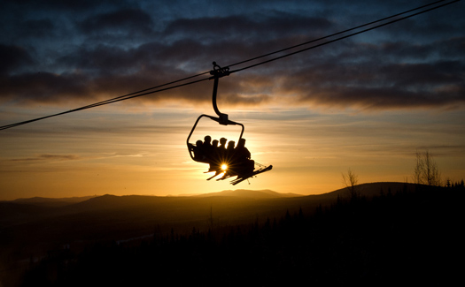 Ski lift. (Image: trysil)