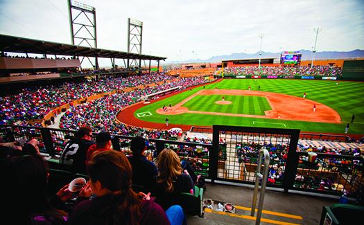 Salt River Stadium (Image: Jonathan Willey/Arizona Diamondbacks)