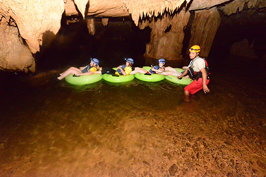 Cave Tubing, Belize