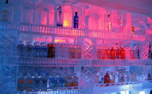 The coolest ice bars in North America