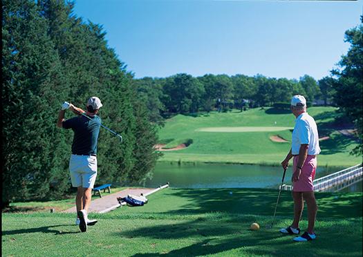 Blue Rock Golf Course.