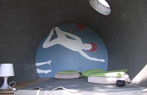 Inside a room at dasparkhotel, Germany (Image: dasparkhotel)
