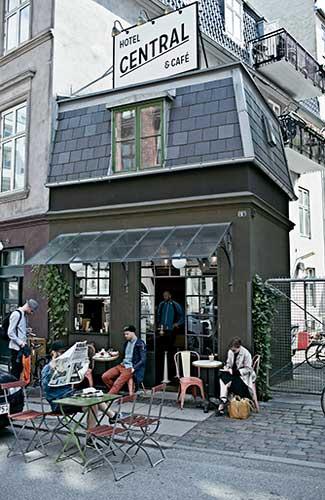 The one-room Central Hotel & Cafe, Denmark (Image: Central Hotel & Cafe)