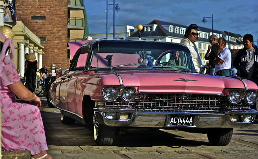 An Elvis impersonator at the (Image: moogan)