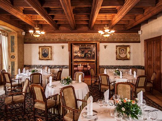 Column Room. Photo by Restauracja Wierzynek