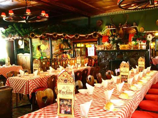 The Bavarian-style restaurant. Photo by Cuckoo Restaurant