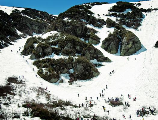 Spring skiing at Tuckerman's Ravine in New Hampshire (Image: mwvchamber)
