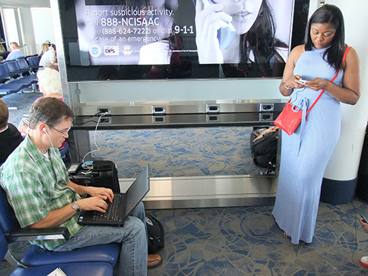 Get charged up in Charlotte (Image: Charlotte Douglas International AIrport)