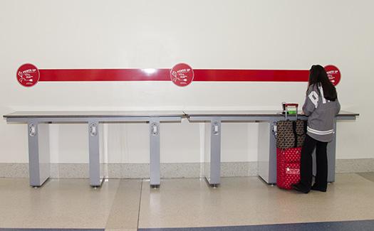 Philadelphia International Airport charging station