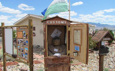 Customs Shack, Republic of Molossia