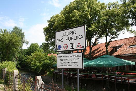 Užupis, Vilnius, Lithuania