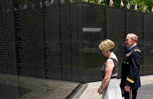 Vietnam Veterans Memorial (Image: The U.S. Army)