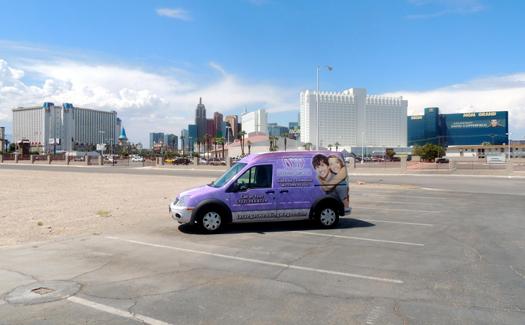 The Wagon (Image: Las Vegas Wedding Wagon)