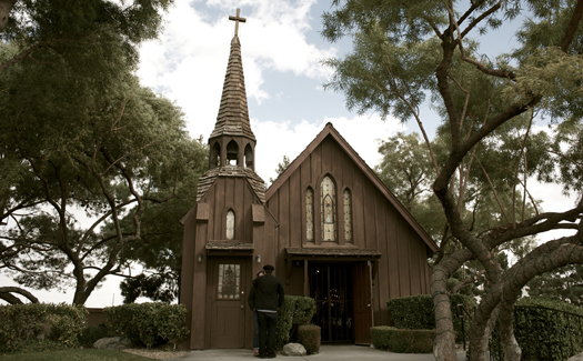 The Little Church of the West (Image: rob-sinclair used under a Creative Commons Attribution-ShareAlike license)