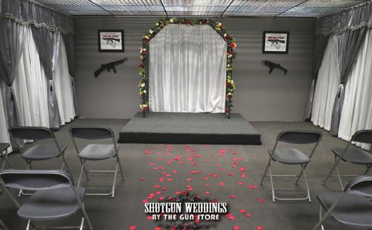 Wedding chapel at The Gun Store (Image: The Gun Store)