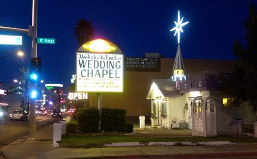 Wee Kirk o'the Heather Wedding Chapel (Image: dittaeva)