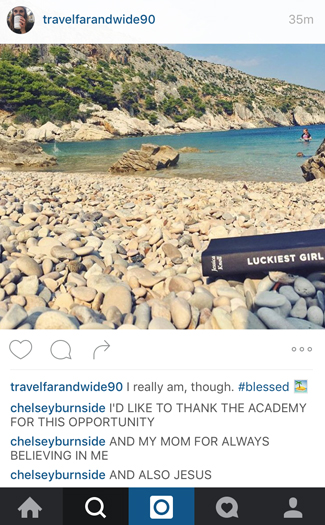 What you wish you could comment on your friend's vacation Instagrams 2