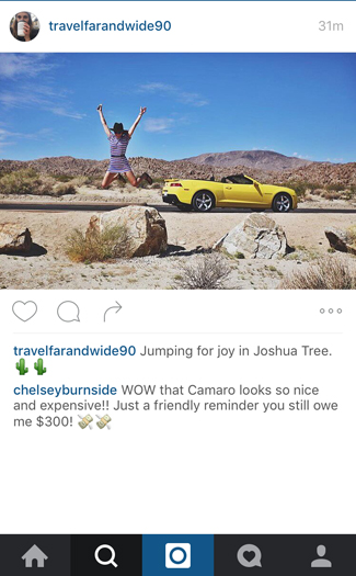 What you wish you could comment on your friend's vacation Instagrams 4