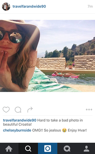 What you wish you could comment on your friend's vacation Instagrams 5