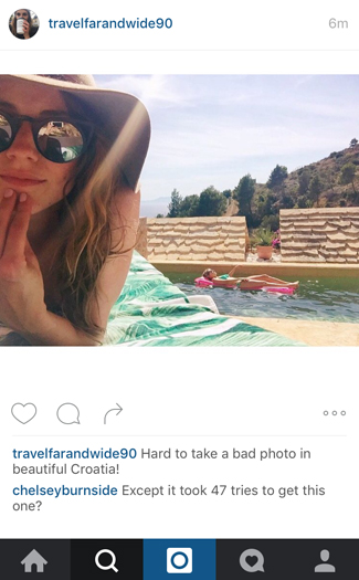 What you wish you could comment on your friend's vacation Instagrams 6