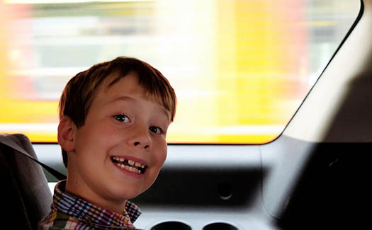 Rental Car Seatbelt